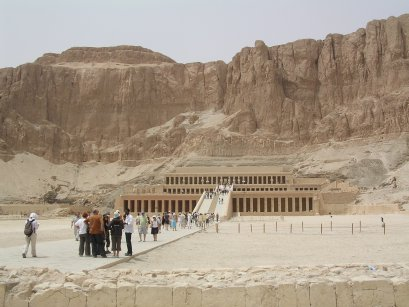 Approach to Hatshepsut's temple