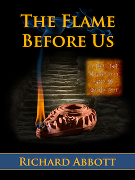 Cover image - The Flame Before Us