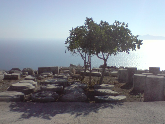 Speaker's area on Santorini (Thira)